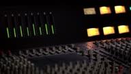 Livello Audio in un mixing console