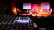 Mixer Audio in uso (grandangolo)-HD & PAL