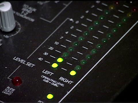 Audio Mixer Levels (NTSC-DV)