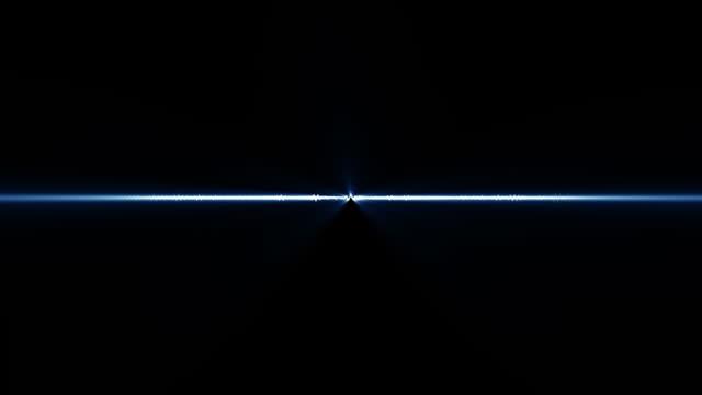 Forma d'onda Audio (i raggi di luce blu