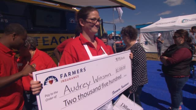 INTERVIEW Audrey Winston on how she got involved in this competition says teaching is hard and is an altruistic field on a teacher who inspired her...