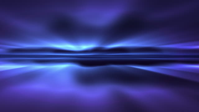 Aurora Blue, Looping HD Background