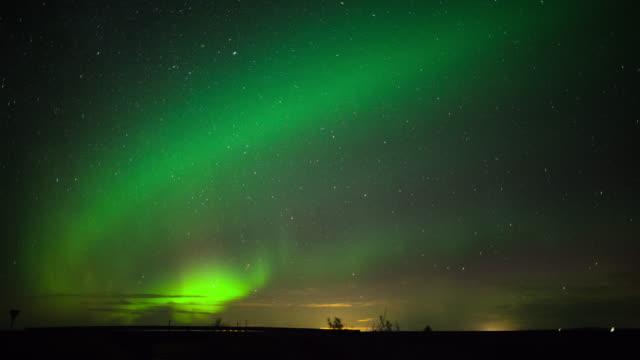 Aurora Borealis - Northern Lights time Lapse