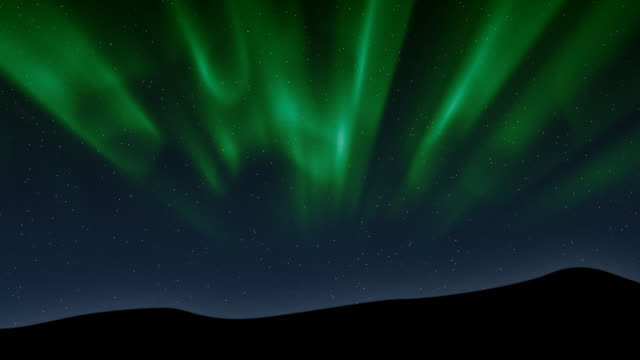 Aurora Borealis (Computer Generated)