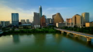 Austin, TX day to night time lapse