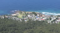 Australia coastal settlement from Illawarra Escarpment