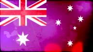 Australia Flag - Grunge. HD