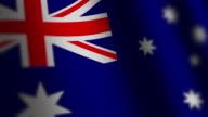 Australia flag - loop