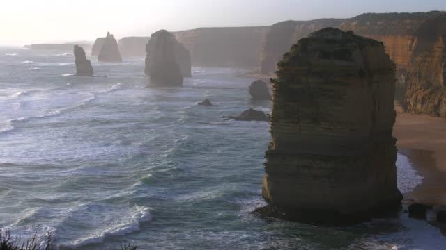 Australia Great Ocean Road 12 Apostles large sea stack
