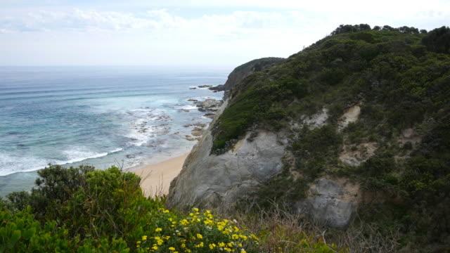 Great Ocean Road Glenaire Australia  city images : Australia Great Ocean Road Glenaire Cliff Stock Footage Video | Getty ...