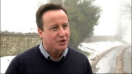 4th Test England win to retain Ashes Cameron reaction ENGLAND Oxfordshire Witney EXT David Cameron MP interview SOT have given everyone something to...