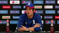 Australian batsman David Warner faces disciplinary action over bar incident INT Alastair Cook press conference SOT It's shame it's happened and it's...