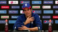 Australian batsman David Warner faces disciplinary action over bar incident Alastair Cook reaction More press conference SOT and 'ICC Champions...