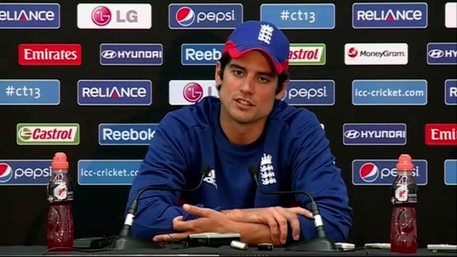 Australian batsman David Warner faces disciplinary action over bar incident Alastair Cook reaction More Alastair Cook press conference SOT