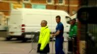 Australian batsman David Warner faces disciplinary action over bar incident Joe Root arrival at Oval ENGLAND London Oval EXT England team coach...