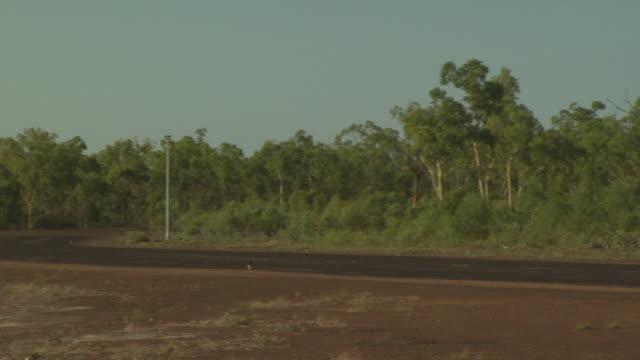 Australian Customs/Surveillance Dash 8 aircraft, Mungalalu Trucott Airbase, WA, Australia