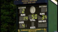 Australian Indigenous XI start tour of England Scoreborad showing match score