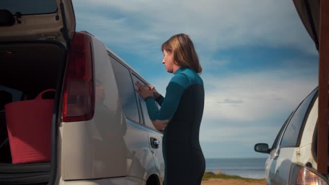 Australian Locals in Sport: a female surfer