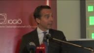 Austrian Prime Minister Christian Kern Turkish acting chief of mission to Turkish Embassy in Vienna Ali Kaan Orbay and Head of IGGO Ibrahim Olgun...