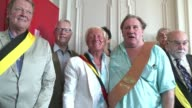 Authorities in the Belgian municipality of Estaimpuis made their most famous resident Gerard Depardieu an honorary citizen on Saturday ahead of a...