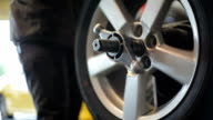 Auto Repair Garage Tire Balance