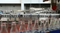 Automated machinery operates on the production line at the Lanitis Bros Ltd bottling plant part of the Coca Cola Hellenic Group in Nicosia Cyprus on...