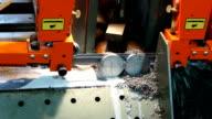 Automatic Metal pipe cutting machine
