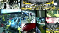 Industria automobilistica Collage