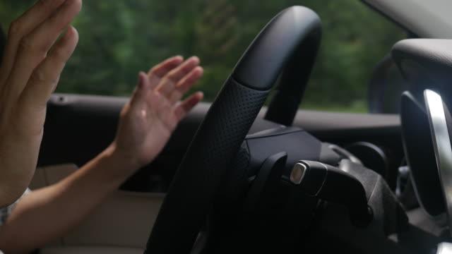 Autonomous car driving tested