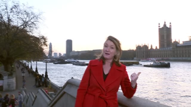 Reaction to NHS funding increase London St Thomas' Hospital EXT Reporter to camera