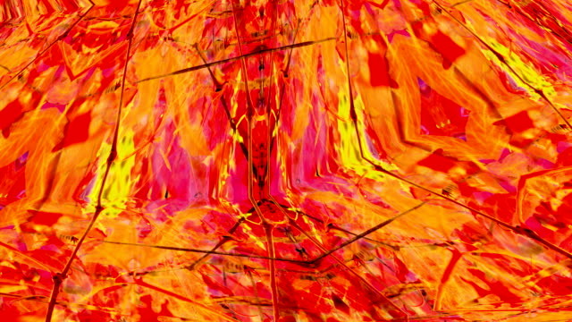 THE OTHER MOVE : autumn colors, vine leaves - cluster, vibrant (loop)