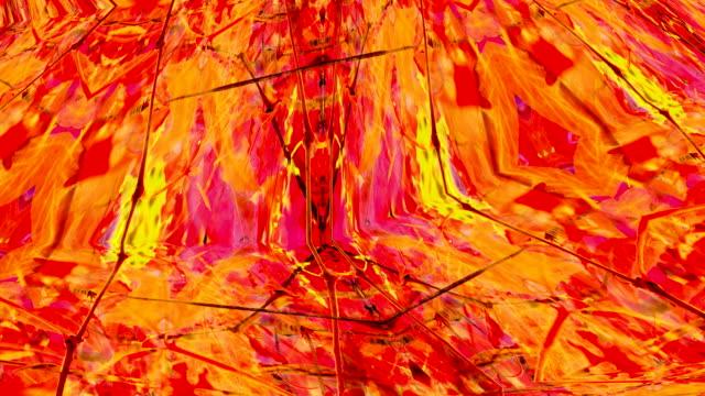 DE andere zet: herfst kleuren, druivenbladeren - cluster, levendige (lus)