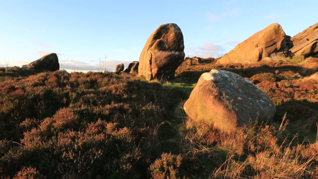 Autumn colours over the Ramshaw Rocks,