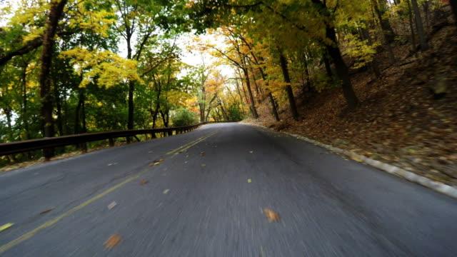 Autumn drive in Reading Pennsylvania