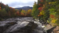 Autumn Foliage in the White Mountains of New Hampshire