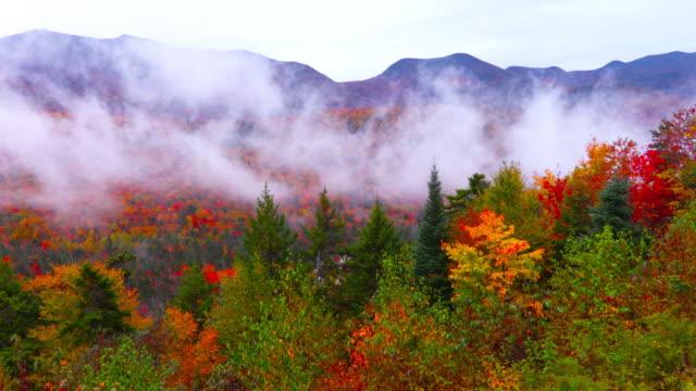 Autumn Foliage in the White Mountains of New Hampshire