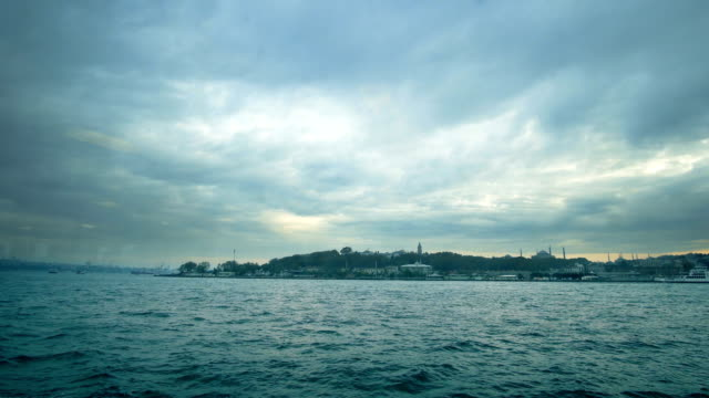 Autumn in Istanbul and boat trip in Bosphorus