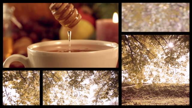 Autumn split screen