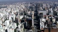 Avenida Paulista-Vista aerea-San Paolo, San Paolo, Brasile