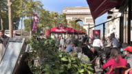 Avenue Champs Elysees in Paris