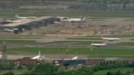 British Airways plane makes emergency landing at Heathrow Airport Heathrow Airport air views ENGLAND London Heathrow Airport with aircraft taking off...