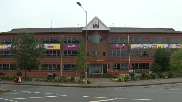 Monarch Airlines head office general views ENGLAND Bedfordshire Luton EXT GVs Monarch office and training centre near Luton airport