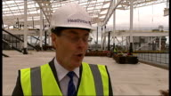 Philip Hammond visits Terminal 2 at Heathrow Airport Colin Matthews interview SOT On new terminal being built good for passengers the aviation...