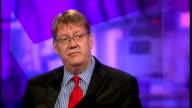 Aviva shareholders vote down executive pay deal ENGLAND London GIR INT Alan MacDougall LIVE STUDIO interview SOT