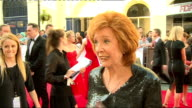 Red carpet interviews Cilla Black chatting to press Cilla Black interview SOT Ant and Dec along on red carpet and chatting to press Rochelle Humes...