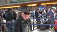 INTERVIEW Axl Rose talks about Coachella ACDC while departing at LAX Airport in Los Angeles in Celebrity Sightings in Los Angeles