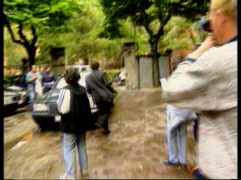Ayrton Senna death inquest Damon Hill gives evidence ITN Hill out of court and rushes to car