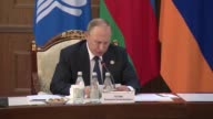 Azeri President Ilham Aliyev Armenian President Serge Sarsgsyan Belarussian President Alexander Lukashenko Kazakh President Nursultan Nazarbayev...
