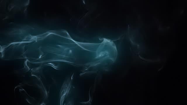 Azure smoke and light
