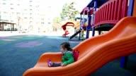 Baby at the Playground Glidecam